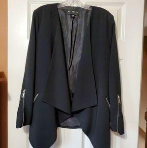 EUC- Black long sleeve dress jacket